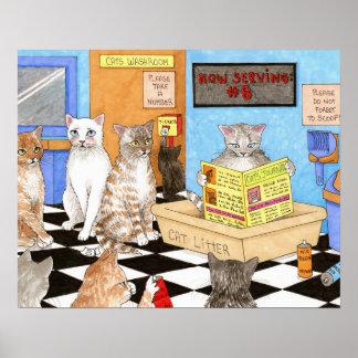 Cat 522 poster