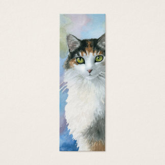 Cat 572 Calico Bookmarks Tiny Cards