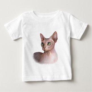 Cat 578 Sphynx white background Baby T-Shirt