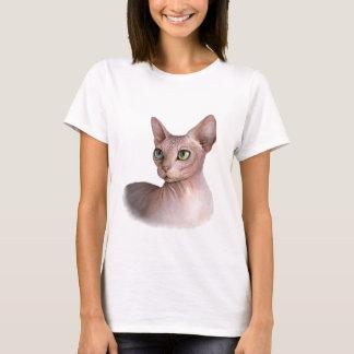 Cat 578 Sphynx white background T-Shirt