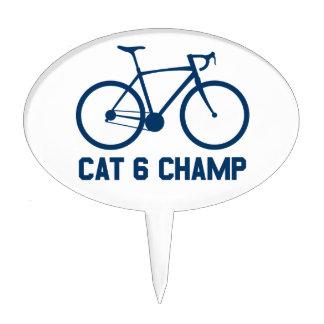 CAT 6 Champ Cake Topper