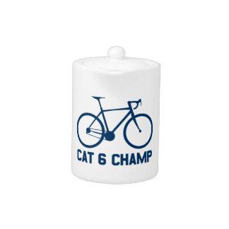 CAT 6 Champ Teapot