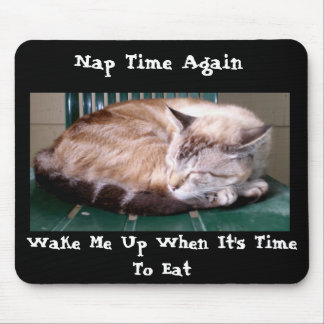 Cat 7, Nap Time Again, Mousepad