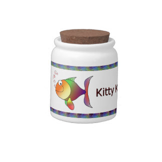 Cat-A-Copia Custom Kitty-Kandy Jar Candy Dishes