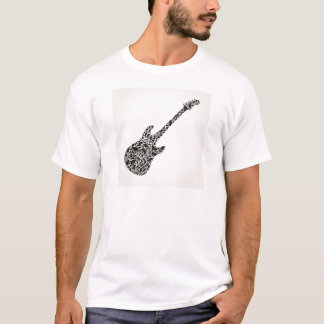 Cat a guitar T-Shirt