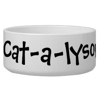 Cat-a-lysor Pet Bowls