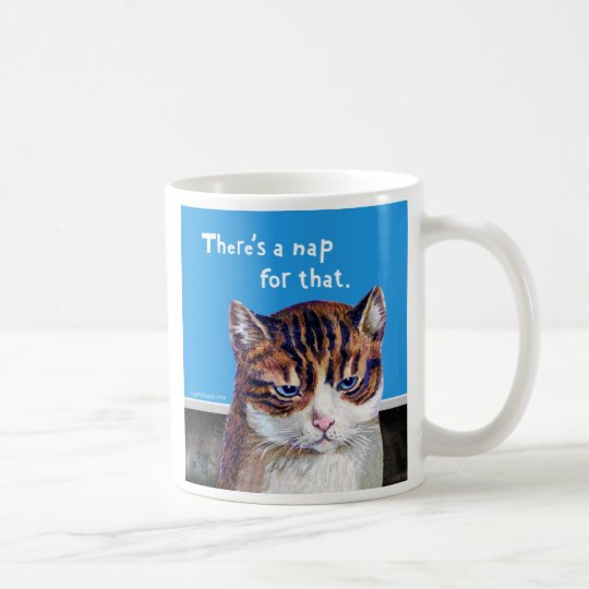 "Cat ""A Nap For That"" Coffee Mug"