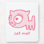 Cat-a-porter cat mat Mousepad