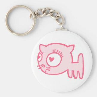 Cat-a-porter Key Chain