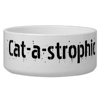 Cat-a-strophic Pet Food Bowls