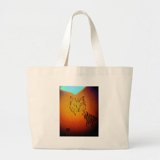 Cat Abstract Art - CricketDiane Bags
