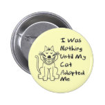 Cat Adoption 2 Inch Round Button