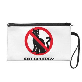 Cat Allergy Wristlet Clutch