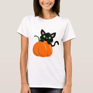 Cat and a Pumpkin T-Shirt