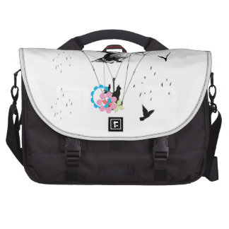 Cat and airplane commuter bag