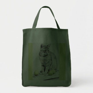 Cat and Apples Bag