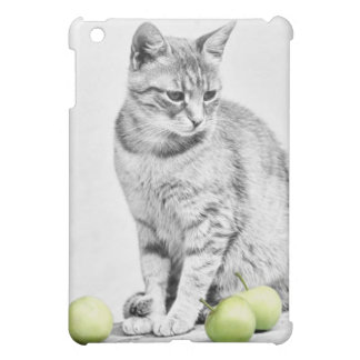 Cat and Apples Cover For The iPad Mini