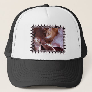 Cat and Ballet Slippers Trucker Hat