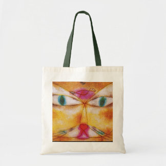 Cat and Bird - Abstract Art - Paul Klee Tote Bag
