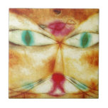 """Cat and Bird by Paul Klee Tile<br><div class=""""desc"""">&#39;Expressionism&#39; beautiful images from legendary artists</div>"""