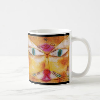 Cat and Bird Coffee Mug - Abstract Art  by Klee