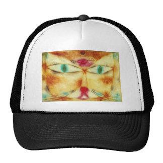 Cat and Bird - Paul Klee Trucker Hat