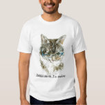 Cat and Book lover's T shirt! Tee Shirt