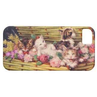Cat and bouquet iPhone SE/5/5s case