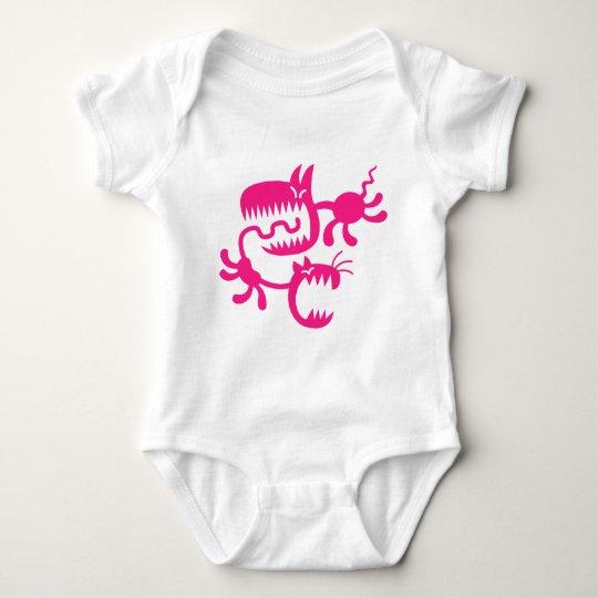 cat and dog baby bodysuit