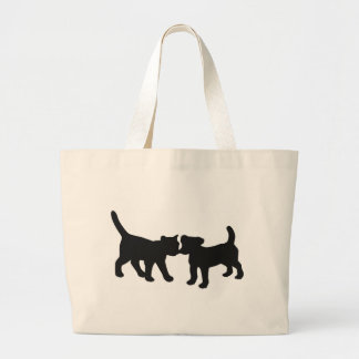 cat and dog canvas bags