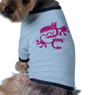 cat and dog doggie t-shirt