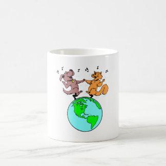 Cat And Dog World Mug