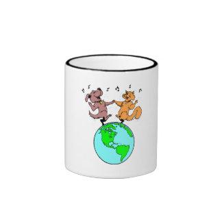 Cat And Dog World Coffee Mug