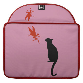Cat and Fairy design Sleeve For MacBooks