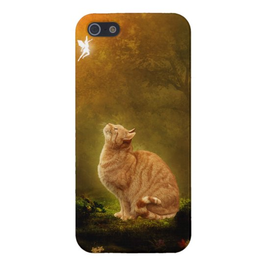 Cat And Fairy iPhone SE/5/5s Case