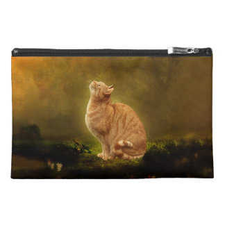 Cat and Fairy (no fairy) Travel Accessory Bags