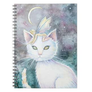 Cat and Fairy Notebook