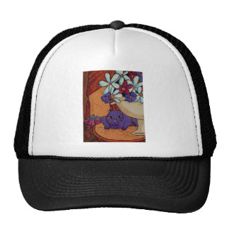 Cat and Figs Trucker Hat
