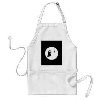Cat and Fish (Cat and Fish) Aprons
