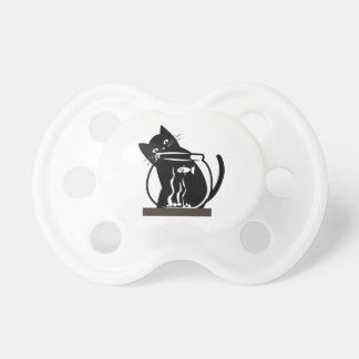 Cat and Fish Pacifier