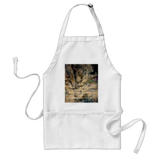 Cat and Forest Dual Exposure Adult Apron