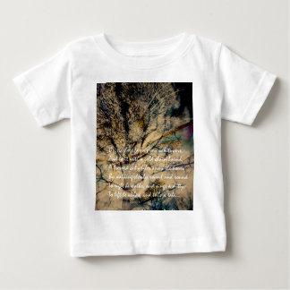 Cat and Forest Dual Exposure Baby T-Shirt