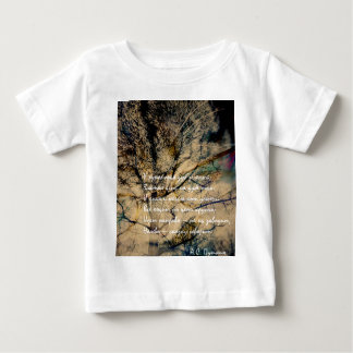 Cat and Forest Dual Exposure rus 2 Baby T-Shirt