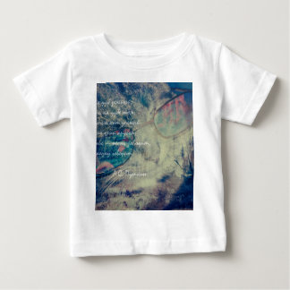 Cat and Forest Dual Exposure rus Baby T-Shirt