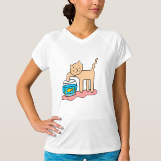 Cat And Goldfish Shirt