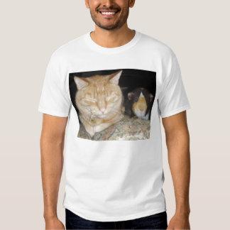 Cat And Guinea Pig T Shirt