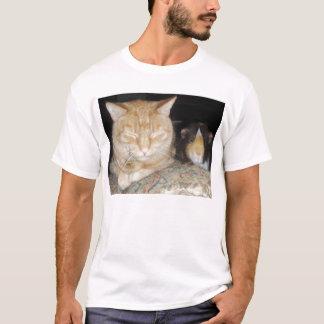 Cat And Guinea Pig T-Shirt