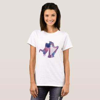 Cat and harp T-Shirt