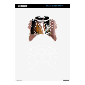 Cat and horse - horse ranch - horse lovers xbox 360 controller skin