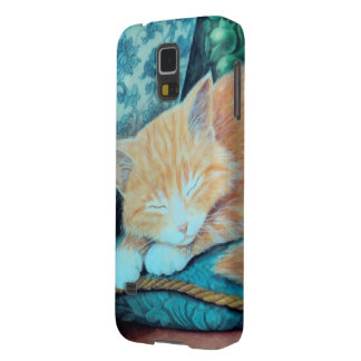 Cat and Indian Elephant Design Galaxy S5 Covers